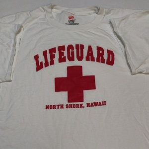 North Shore Hawaii lifeguard t-shirt. Size M.